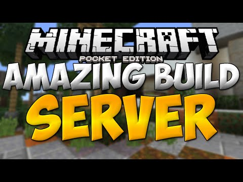 BEST MODERN BUILDS in MCPE! - Minecraft PE (Pocket Edition) | Shaped Building Server |