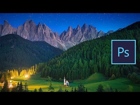 How to create MAGICAL NIGHT PHOTOS in PHOTOSHOP