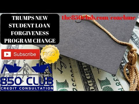 Donald Trump's New College Student Loans Forgiveness Change - Do You Qualify? Navient, Nelnet, Etc
