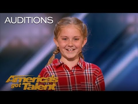 Lily Wilker: 11-Year-Old Animal Impressionist Delights The Judges - America's Got Talent 2018