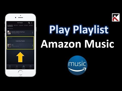 How To Play Your Playlists On Amazon Music