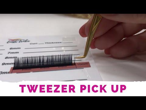 Precision Volume Lashes Tweezer Pickup