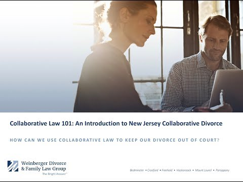 Collaborative Divorce in New Jersey: Conscious Uncoupling