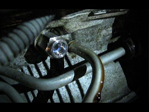 Transmission Fluid Leak - Transmission Cooler Line Fitting - 2006 Impala - Fixed