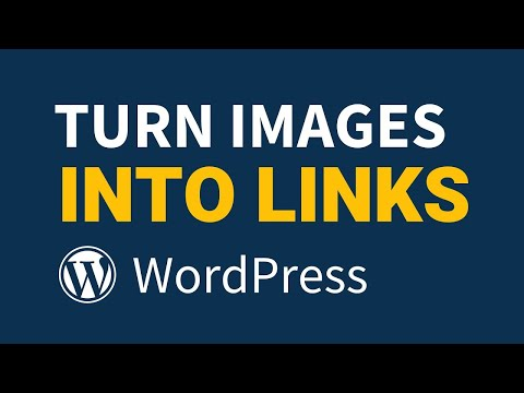 How To Make Images into Links on WordPress (clickable image links)
