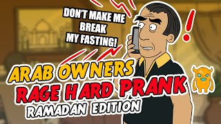 Crazy Arab Restaurant Owners RAGE HARD (Ramadan Special)