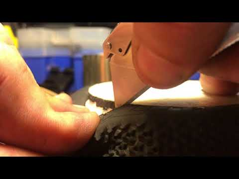How to unglue remove rc tires from rims no boiling no baking no chemicals