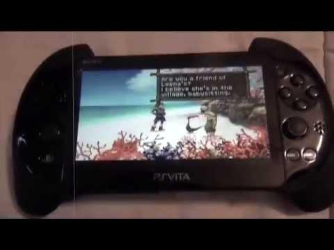 Play Ps1 games in FULLSCREEN PSP Vita Slim! ( PCH-2001 )