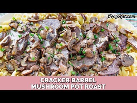 Cracker Barrel Mushroom Braised Pot Roast - Instant Pot