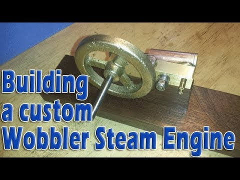 Building a precision oscillating steam engine: Part 5