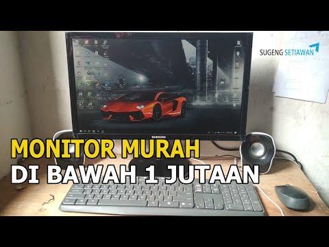 rekomendasi monitor dibawah 1 jutaan - review monitor samsung 19 inch murah