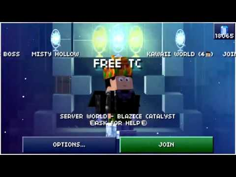 The Blockheads 1.6.2 how to get free Time Crystals Server
