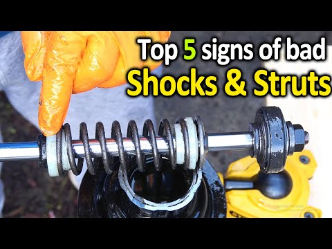 How to Tell if SHOCKS or STRUTS are Worn out in Your Car ( Best way )
