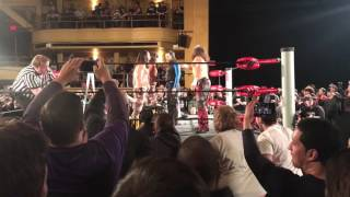 broken Matt brother Nero show up in ROH to confront Young buck