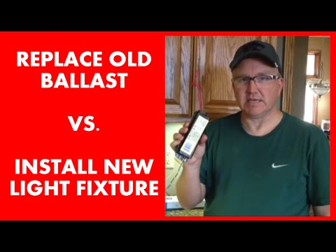 How to Install a New Fluorescent Ballast