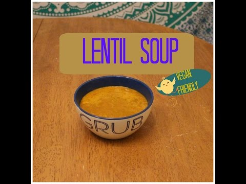Lentil Soup for Weight Loss 🍵(Vegan)