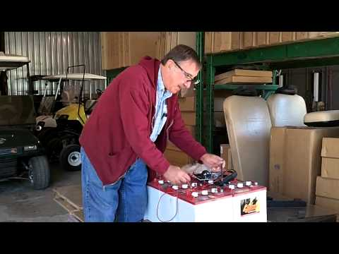 Beaver Creek Golf Carts Shows You How to Test your Cart's Battery
