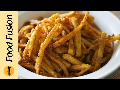 Crispy Fried Potato Recipe By Food Fusion