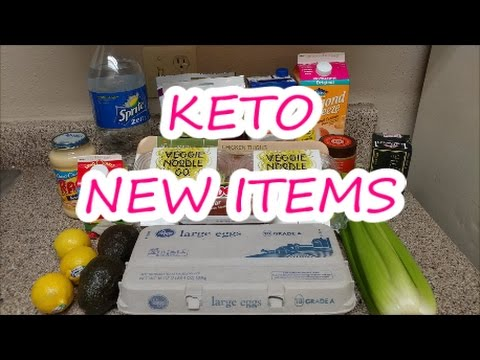 KETO GROCERY HAUL    NEW  KETO ITEMS