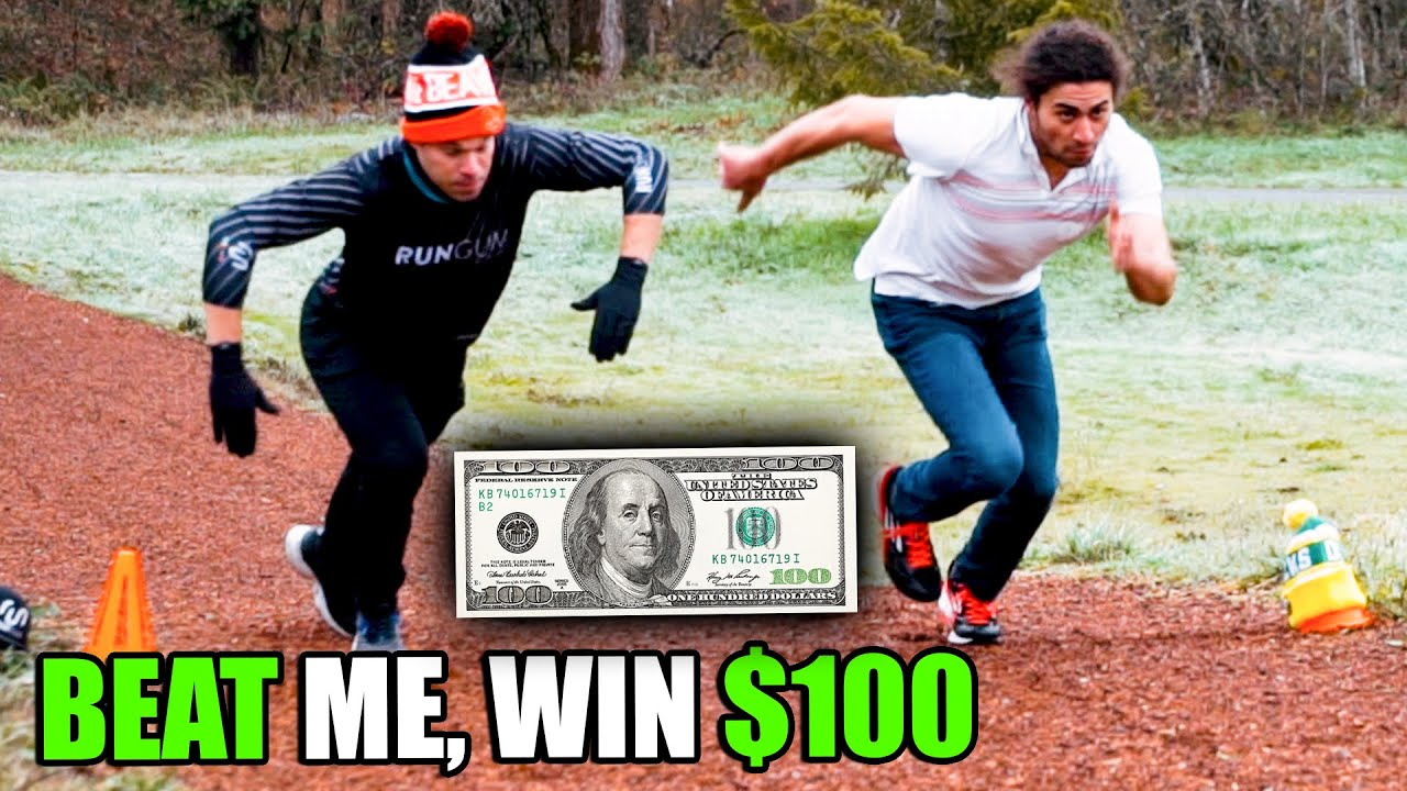 Beat Me in a Race, Win $100 (College Football Tailgate Edition!!)
