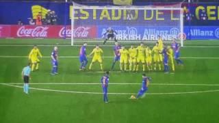 Villarreal 1 vs FC Barcelona 1 Gol de Messi