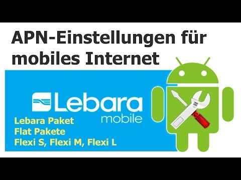 Lebara: APN-Einstellungen für mobiles Internet