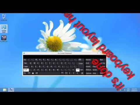 How to change keyboard layout