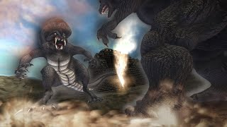 Godzilla vs. Axor -- Kaiju Fight Fan Animation