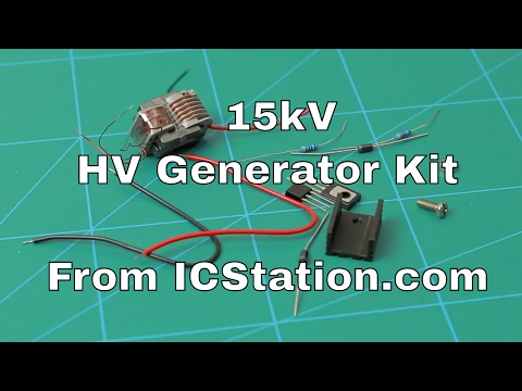 15kV HV Generator Kit From ICStation.com