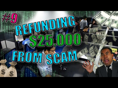 Refunding $25,000 from tech support scam back to the scam victims (part 1) | scambaiting #9