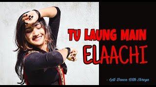 Luka Chuppi : Tu Laung Main Elaachi   Kartik Aaryan,Kriti Sanon   Let's Dance With Shreya