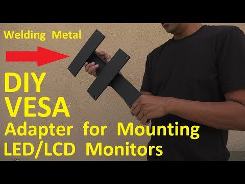 DIY VESA Adapter or Bracket for Mounting 43-inch LCD/LED Monitor