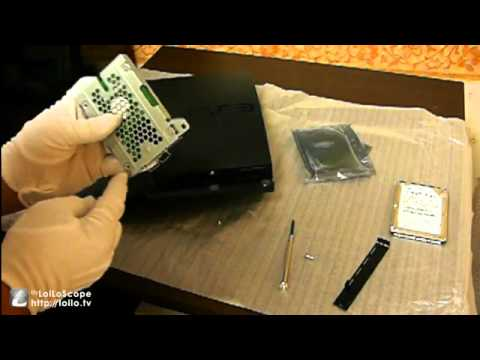 Ps3 slim replace the HDD 120GB to 500GB