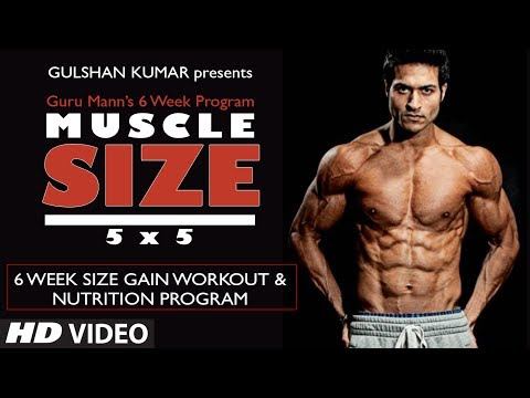 SIZE GAIN WORKOUT PROGRAM OVERVIEW | Muscle Size 5x5 program by Guru Mann