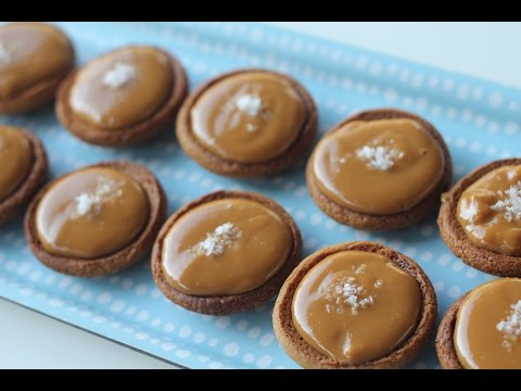 How to make Salted caramel tarts recipe