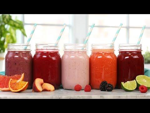 5 Healthy Smoothie Recipes