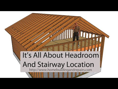 Watch This Video Before Adding A Second Floor Loft – Headroom and Stairway Location