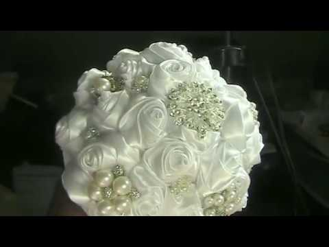 DIY Brooch Bouquet Kit How to Make your Bouquet & Groom's Boutonniere
