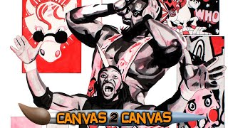 The New Day feel the power on the canvas: WWE Canvas 2 Canvas