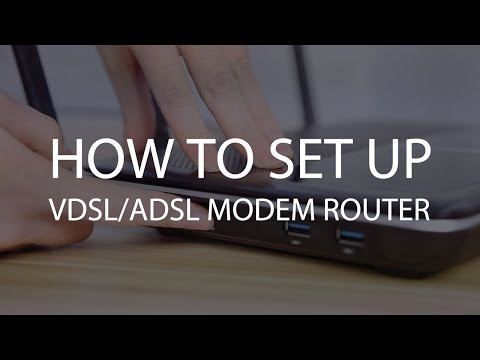 TP-Link VDSL/ADSL Modem Router Setup Tutorial Video