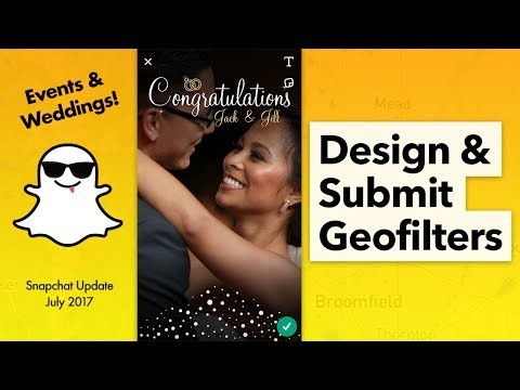 How to Create Event Geofilters in Snapchat