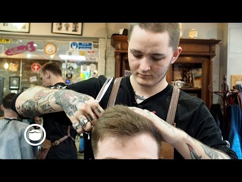 Low Blended Fade Men's Haircut
