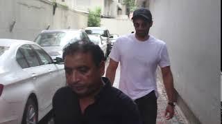 Aditya Roy Kapoor spotted at Mahesh Bhatt office khar
