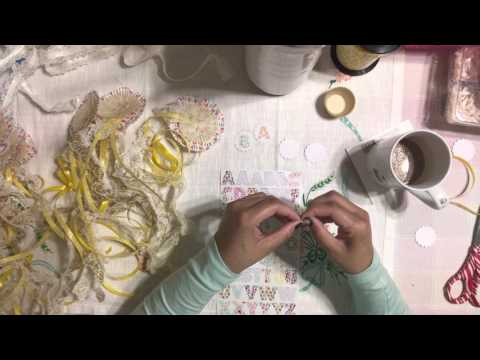Easy Tutorial Baby Shower Sign Using Cupcake Liners - DIY - Party Ideas