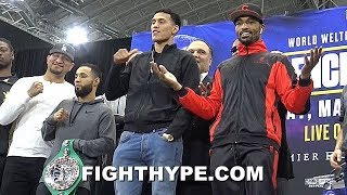 SPENCE VS. GARCIA COMPLETE UNDERCARD FINAL PRESS CONFERENCE; BENAVIDEZ AND LOVE GO AT IT