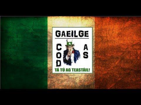 Learn Irish 1 Irish Alphabet & Pronunciation COD as GAEILGE Style!
