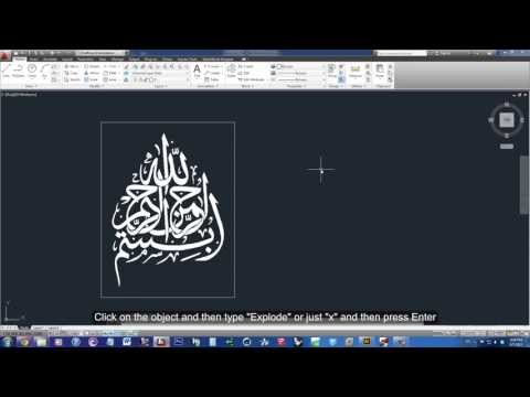 How To Transform an Image into Lines to AutoCAD Using Illustrator (Tutorial) - HD