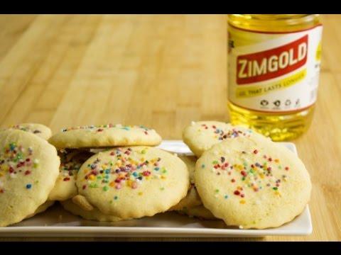 Oil Sugar Cookies
