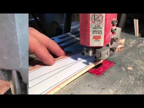 Part 1- Internal Frame - how to make a hollow wooden surfboard