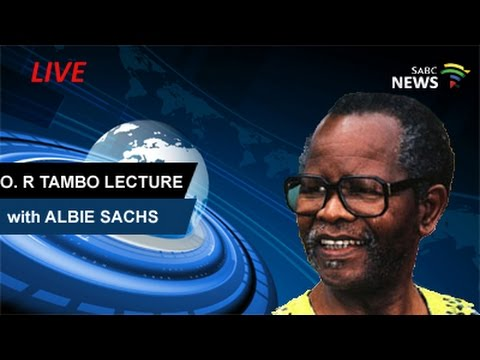 OR Tambo Lecture by Albie Sachs, UWC: 25 April 2017